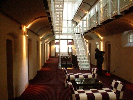 Oxford castle for Prison converted to hotel